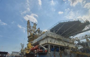 EDrill-2 at Kerisi Platform for MEDCO Energi